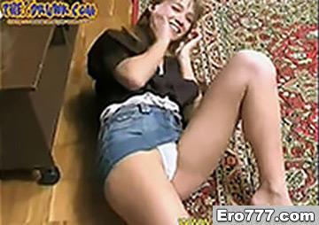 Пьяная молодая русская девчонка